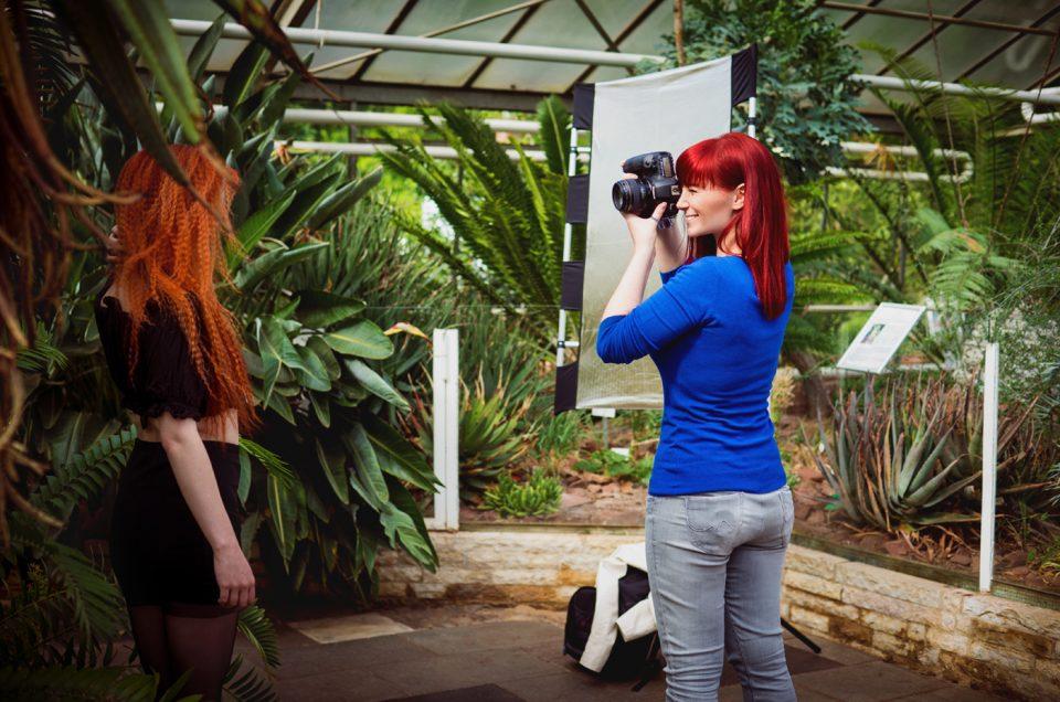 Gemeinsames Shooting mit COEVAL: Zara Axeronias & Julie Jericho