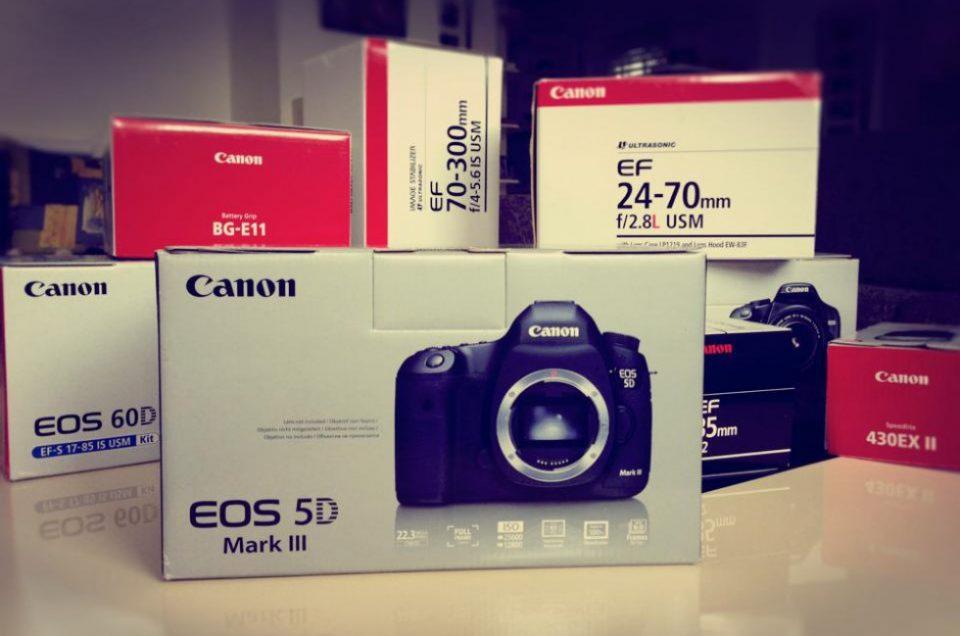 Meine Fotografie-Ausrüstung - Von damals bis heute